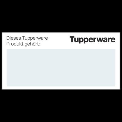 Tupperware Freundschafts-Etiketten