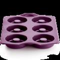 Tupperware Silikonform Diabolo Silikonform perfekt für Donuts, Bagels, Eierspeisen oder Eis