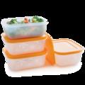 Tupperware Eis-Kristall 450 ml (4) Gefrierbehälter perfekt für kleine Portionen