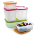 Tupperware Eis-Kristall-Set (5) Gefrierboxen im Set