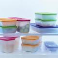 Tupperware Eis-Kristall 2,25 l Gefrierbehälter im Set