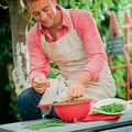 Tupperware Saladin®  zum Abtropfen von Salat, Kräutern, Gemüse und Obst