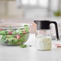Tupperware TupperTime Kännchen Kännchen perfekt zum Aufbewahren und Servieren von Milch, Sirup oder Salatdressing