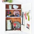 Tupperware Küchenrollen-Halter Komfortables Aufstecken und Abrollen der Küchenrolle