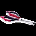 Tupperware Ergonomic-Schere Schere mit gummierten, ergonomischen Griffen