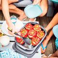 Tupperware Griffbereit Servierlöffel Zum Servieren von gefüllter Paprika