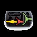 Tupperware Klick-System 6 Produkte zum Schälen, Schneiden und Hobeln
