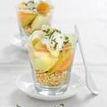 Tupperware Es hat KLICK gemacht Dessert mit Melonen aus dem Rezeptheft