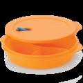Tupperware MicroTup Menüteller Menüteller mit Unterteilung