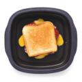 Tupperware MicroPro Grill gegrilltes Toast aus dem MicroPro Grill