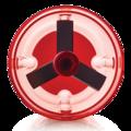 Tupperware Tupper®-Turbo-Chef zum Zerkleinern von Kräutern, Nüssen, Zwiebeln und Knoblauch, Paprika u.v.m.