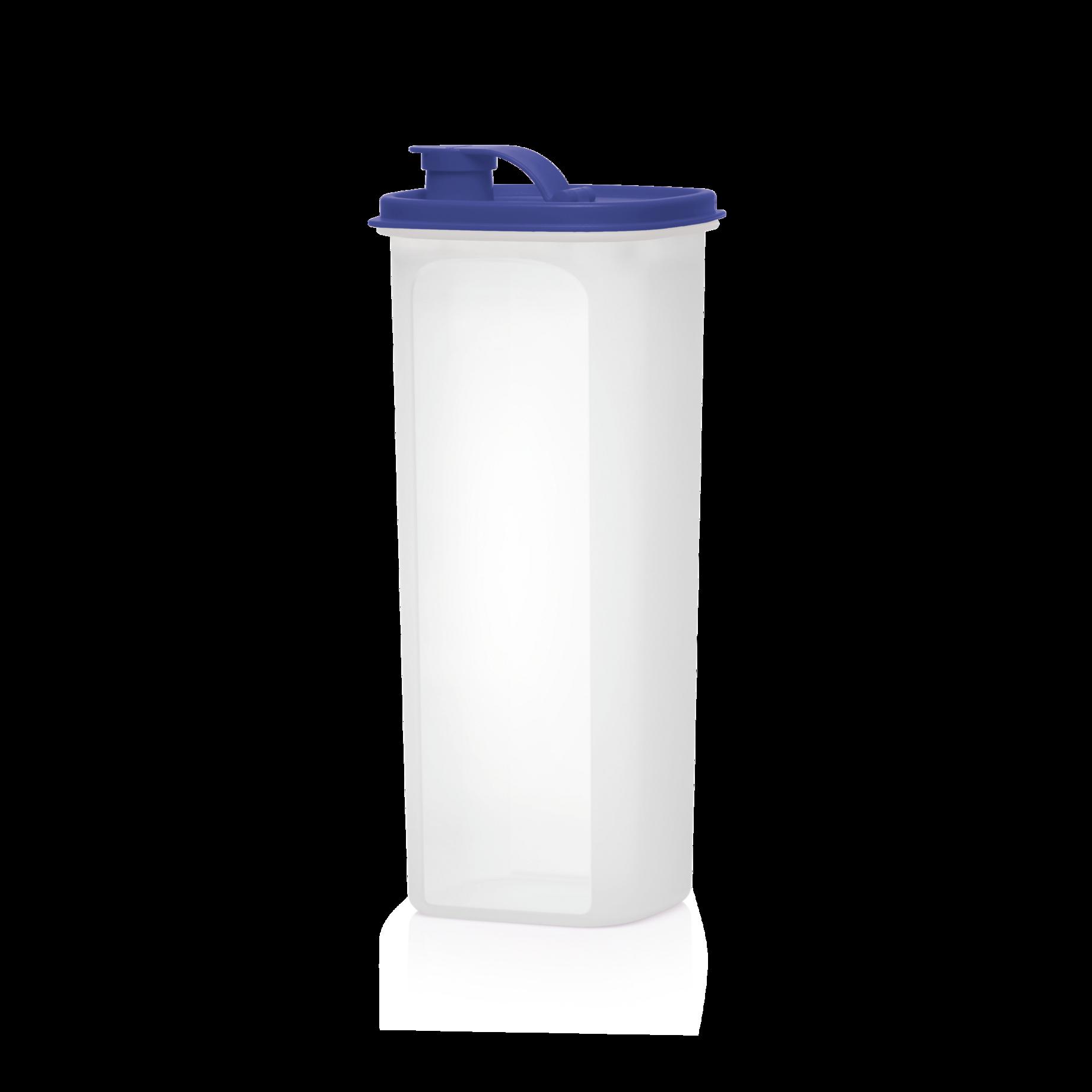Tupperware Getränkebehälter Erfrischer 1 Ltr blau NEU     Tee Saft für unterwegs