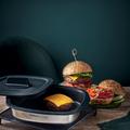 Tupperware MicroPro Grill Burger mit Käse aus der Mikrowelle