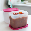 Tupperware Eis-Kristall 1,1 l hoch (2) Gefrierboxen im Set