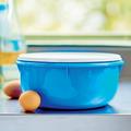 Tupperware Große Rührschüssel 3,0 l im Größenvergleich mit Eiern
