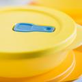 Tupperware MicroTup-Set klein (3) Kleiner Behälter zum Erwärmen von Speisen in der Mikrowelle
