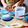 Tupperware Rühr-Mix 1,25 l Ein Behälter zum Rühren und Messen in einem