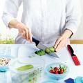 Tupperware Universal-Serie Universalmesser Universalmesser zum Putzen von Gemüse oder schneiden von Pilzen