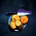 Tupperware Universal-Serie Kochmesser Großes Kochmesser zum schneiden von voluminösem Gemüse und Obst