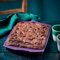 Tupperware Silikonform Ecki leckere Schoko Brownies