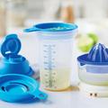 Tupperware Shake-It Shaker und Zitronenpresse perfekt kombinierbar