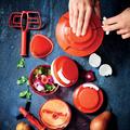 Tupperware Extra-Turbo   zum Zerkleinern von großen Mengen Kräutern, Lachs oder hart gekochten Eiern