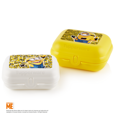Tupperware Twin-Set Minions (2)