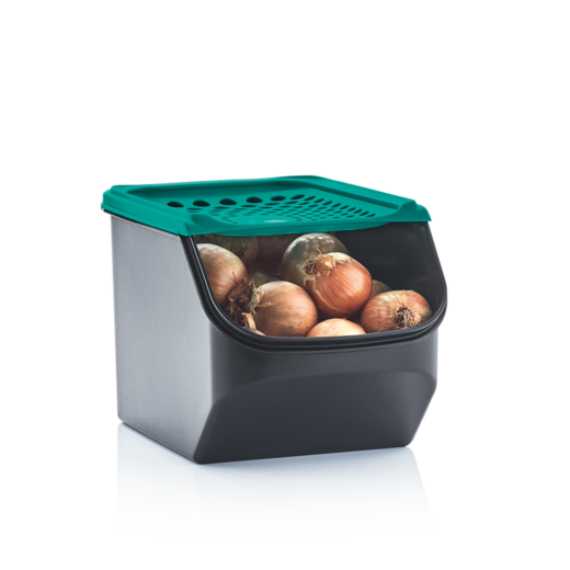 Tupperware 3 tlg Lager Set Kartoffel-Lager Zwiebel-Lager /& Knoblauch-Lager
