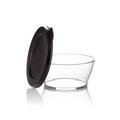 Tupperware Clear Collection 610 ml durchsichtige Schüssel mit offenem Deckel