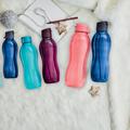 Tupperware EcoEasy Trinkflasche 1,0 l die ganze Ecoeasy Serie - alle Flaschen zum Mitnehmen - schütze die Umwelt