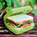Tupperware On-the-Go-Set (3) Sandwich-Box mit Butterbrot