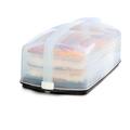 Tupperware Königskuchenbehälter mit Kuchen