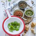 Tupperware Saladin®  mit Basilikum und Pesto