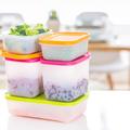 Tupperware Eis-Kristall 450 ml (4) Gefrierbehälter im Set
