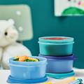Tupperware Julchen-Set Drei bunte Dosen für kleine Portionen für Kids
