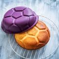 Tupperware Silikonform Phantasie Fußball Backform
