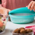 Tupperware Clarissa®-Set elastischer Deckel - schließt luft- und wasserdicht ab