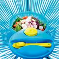 Tupperware Salat & Go super nachhaltig - der Salat für unterwegs mit Dressingbehälter