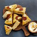 Tupperware Noch mehr Brot & Dips Focaccia Ziegenkäse Feige Walnuss-Dip