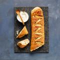 Tupperware Noch mehr Brot & Dips Handbrot Schinken Käse regional