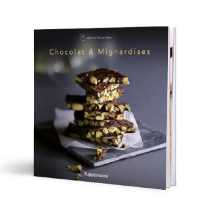 """Tupperware Livre """"Chocolats & Mignardises"""""""