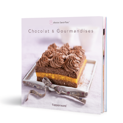 "Tupperware Livre ""Chocolats & Gourmandises"""