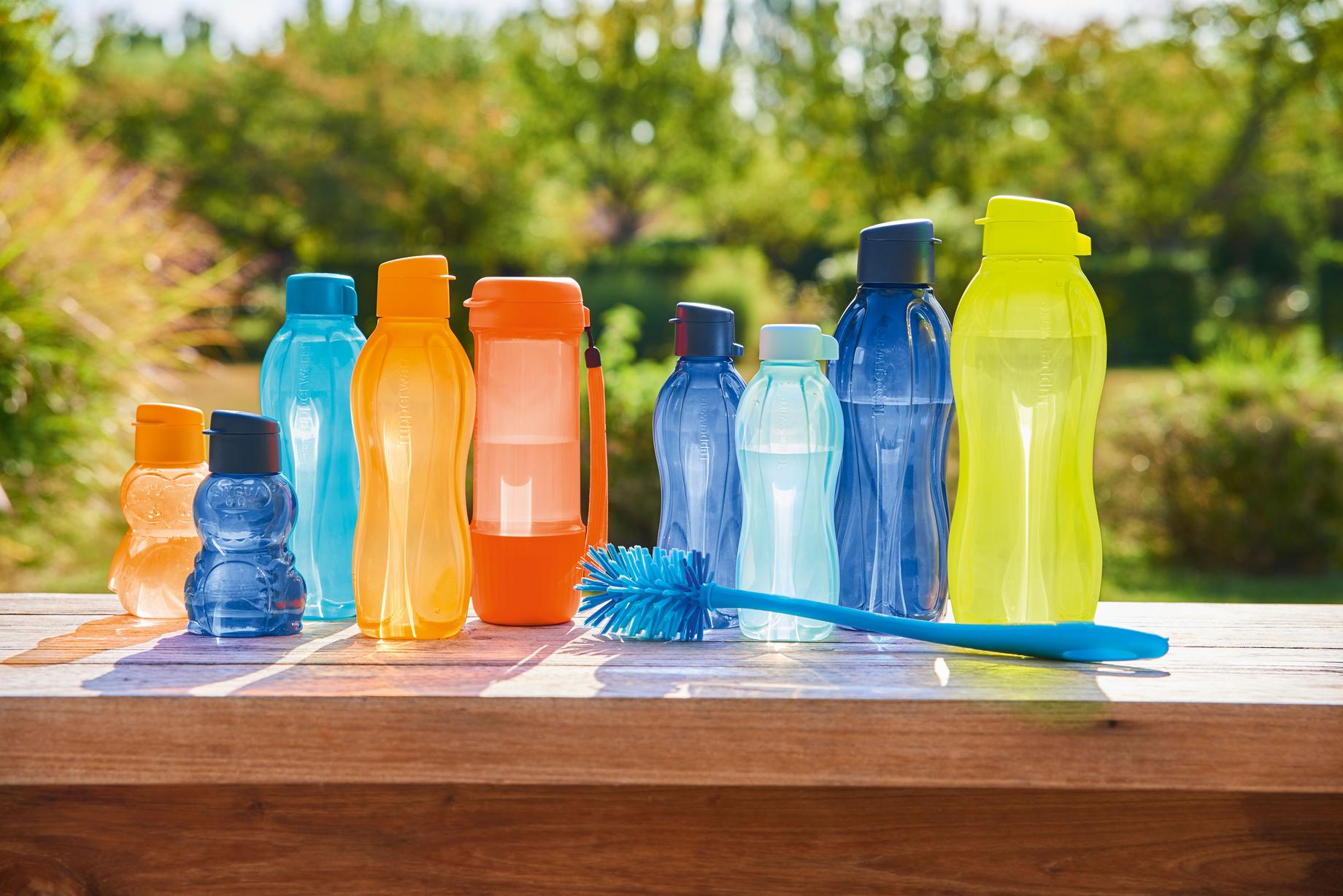 750 ml. weiß neu TUPPERWARE  EcoEasy Ersatz Klappverschluss für Trinkflasche