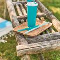 Tupperware Eco+ Trinkbecher 470 ml schlanker Behälter, den verschieden große Hände leicht greifen können