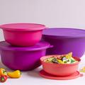 Tupperware Aloha-Set schöne bunte Schüsseln mit frischen Farben für gute Laune