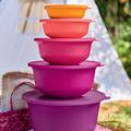 Tupperware  Mahola 4,0 l  schöne bunte Schüsseln mit frischen Farben für gute Laune