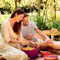 Tupperware Aloha 7,5 l hübsch auf dem Tisch oder beim Picknick