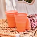 Tupperware Junge Welle Trinkhalm-Becher 330 ml (2) In diesen Bechern sind Getränke vor Insekten sicher - Staub ist kein Thema mehr.
