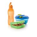 Tupperware On-the-Go-Set (3) super nachhaltig - das Set für unterwegs mit Dressingbehälter