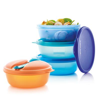 Tupperware Snack & Go-Set (4)